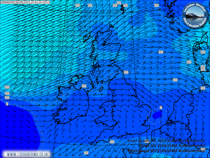 UK Surface Wind